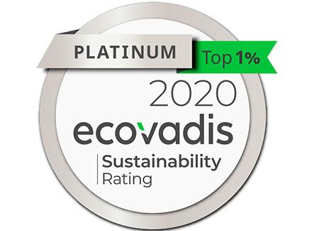 Sopra Steria obtient la médaille Platinum d'EcoVadis
