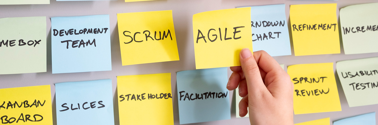 Notes on a wall about agility_topbanner