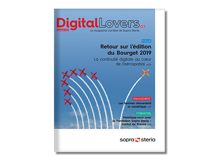 Couverture DigitalLovers n°1 Septembre 2019