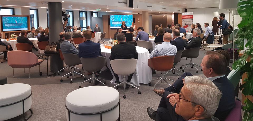 L'entreprise plateforme : un accélérateur d'innovation - événement du 9 juillet 2019
