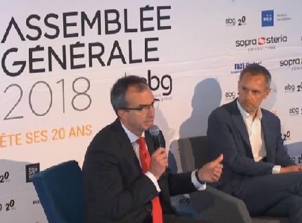 Conférence « Les Banques face aux GAFA et aux BATX » à l'AG EBG 2018